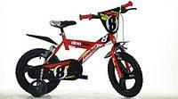 """Велосипед дитячий 14"""" DIno Bikes ROSSO"""