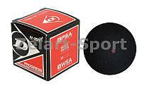 Мяч для сквоша DUNLOP (1шт) 700103 PROGRESS (резина, черный)