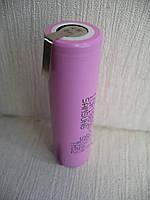 Аккумулятор с выводами под пайку, U-tags, 18650 Samsung ICR18650-26J М 2600мАч