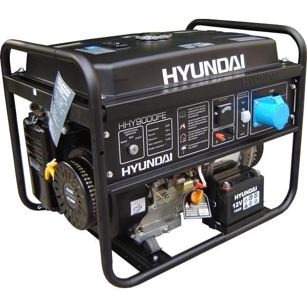 Бензиновый генератор Hyundai HHY 9000Fе