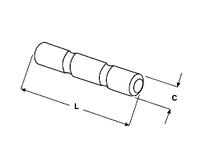 Стопорный палец (болт) зуба ковша 25 - RPG  - зубья, наконечники и крепления для ковша погрузчика/экскаватора - Зубы рыхлителя / Esco