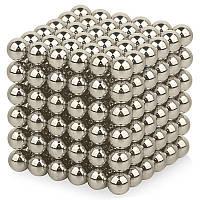 Неокуб Neocube срібло 5мм магнітні кульки, фото 1