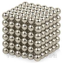 Неокуб Neocube срібло 5мм магнітні кульки