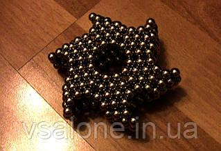 Неокуб Neocube чорний 5мм магнітні кульки