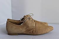 Женские туфли на шнуровке Caprice 41р.