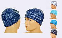 Шапочка для плавания из водонепроницаемой PU ткани SAILTO PL-5572 (PU, 38гр, цвета в ассортименте)