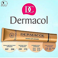 Dermacol, дермакол, супер стойкий тональный крем №7