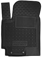 Полиуретановый водительский коврик для Hyundai Accent 2017- (AVTO-GUMM)