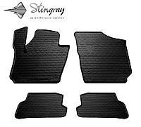 Stingray Модельные автоковрики в салон VOLKSWAGEN Polo Hatchback 2009- Комплект из 4-х ковриков (Черный)