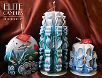 Морские свечи-подарочный набор