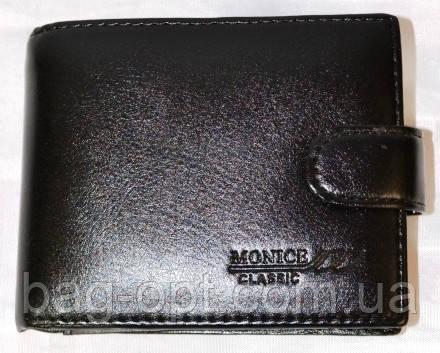 Мужской кошелек из искусственной кожи Monice (10x13)