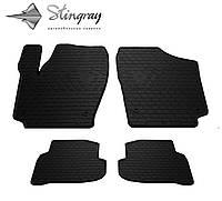 Stingray Модельные автоковрики в салон Volkswagen Polo Sedan 2009- Комплект из 4-х ковриков (Черный)