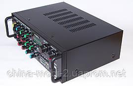 Підсилювач звуку UKC AMP AV-329BT 2*120W c Karaoke і Bluetooth, фото 3