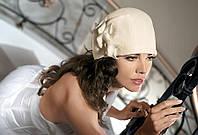 Женская шерстяная черная шапка ULRIKA от Willi Польша