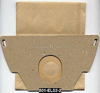 Мешки для пылесоса Electrolux, 5 шт + фильтр, пылесборник EL-02 C-II бумажный