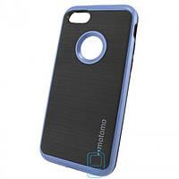 Чехол-накладка матовый Motomo iPhone 7 синий