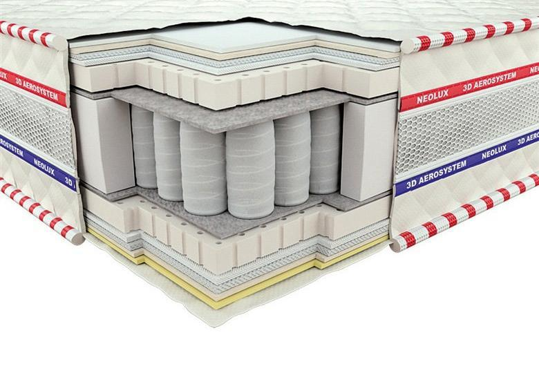Ортопедический матрас 3D Империал Латекс Зима-лето PS 180х200