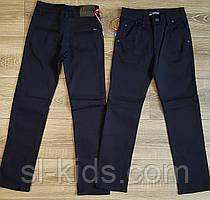 Штаны,джинсы на флисе для мальчика 110-122 см (темно синие 02) пр.Турция