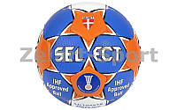 Мяч для гандбола SELECT ULTIMATE REPLICA-1 Club training (HPU 1000, р-р 1, синий-белый)
