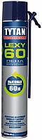 Монтажно-уплотнительная Пена Lexy 60 TYTAN, 750 мл