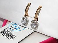Золотые серьги 60025-А, фото 1