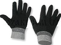 Вязаные перчатки. Цвет Черный.