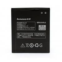 Аккумулятор BL210 (Original) для Lenovo S820, S650, A656, A766, A529, A536, A606, A828T, A368T, A658T, A358t