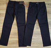 Штаны,джинсы на флисе для мальчика 140-164 см(розн)(темно синие02) пр.Турция