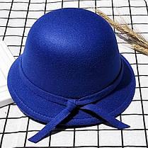 Шляпка с узелком в цвет, фото 3