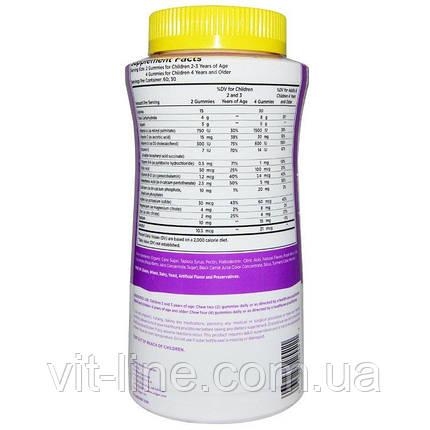 Solgar, U-Cubes, жевательные витамины и минералы для детей, 120 жевательных конфет, фото 2