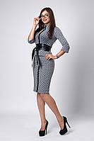 Костюм мод №269-10, размеры 44 Луи Витон серый, фото 1