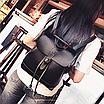 Рюкзак женский сумка трансформер Daily Woman Черный, фото 4