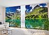 """Фото Шторы в зал """"Великие горы"""" 2,7м*2,9м (2 полотна по 1,45м), тесьма"""