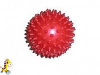 Мячик массажный, диаметр 12 см разные цвета