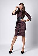 Костюм мод №269-9, размеры 42 Луи Витон черный, фото 1