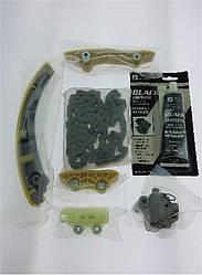 Комплект ГРМ (цепь, башмак, натяжитель) Ford Transit 2.0/2.4TDCi 00-06