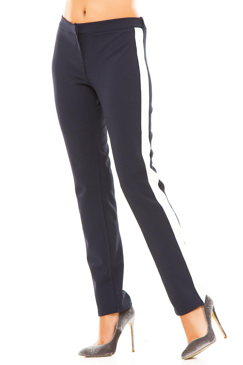 Ж237  Женские брюки с полоской 42,44,46,48