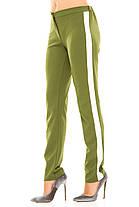 Ж237  Женские брюки с полоской 42,44,46,48, фото 3