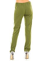 Ж237  Женские брюки с полоской 42,44,46,48, фото 2