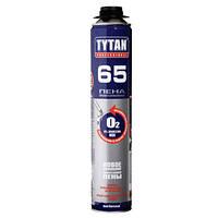 Монтажно-уплотнительная профессиональная Пена О2 (65 литров)TYTAN, 750 мл