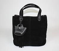 Элегантная женская замшевая сумочка