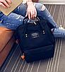 Женский рюкзак сумка городской школьный Living Черный, фото 4