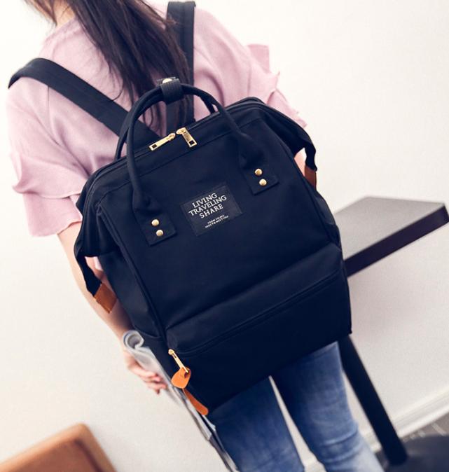 d97f922e4b44 Купить Женский рюкзак сумку городской школьный Living Чёрный ...
