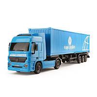 Грузовик Международные перевозки Dickie 3746005N синий