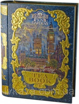 Чай черный OPA London Spring  Tea Book, том 1 Sun Gardens,ж\б, 100 гр
