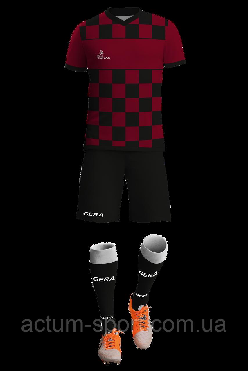 Футбольная форма Chessboard Gera с гетрами