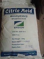 Кислота лимонная моногидрат мешок 25 кг