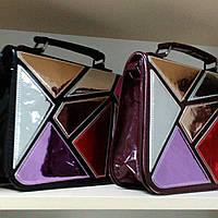 Новинка осени 2017! Женская сумка, битое стекло, в наличии цвет чёрный и марсала