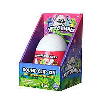 Брелок Хетчималс сюрприз со звуком в яйце  Hatchimals Plush Sound Clip-On Spin Master оригинал