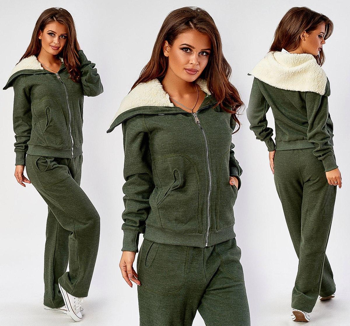 265f8e1278e Женский спортивный костюм   трехнитка петля